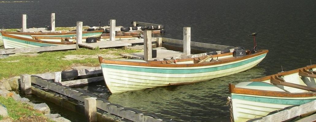 Les barques du réservoir